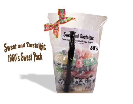 1950's Old Fashioned Sweets Gift Pack